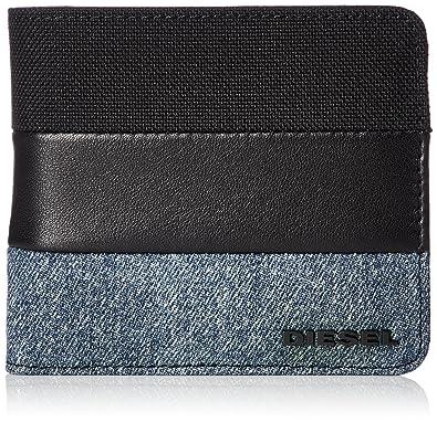 7e204aaa2656 (ディーゼル) DIESEL メンズ 二つ折り財布 METROPOLITY HIRESH S - wallet X05876P1830 ブラック  H3820