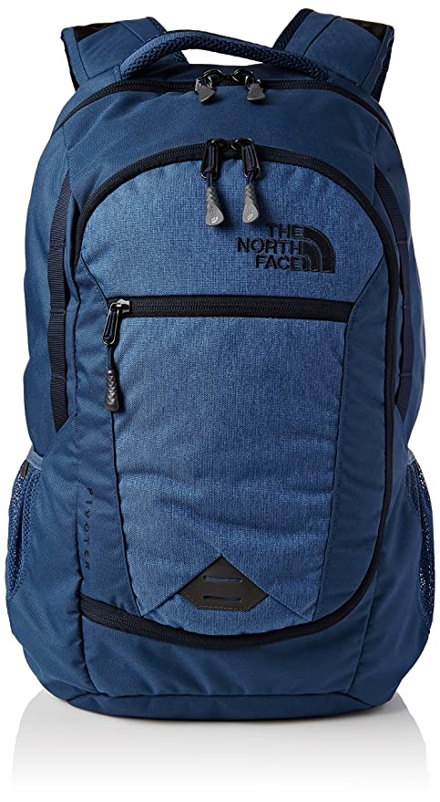 34b400dad The North Face Pivoter Backpack Shady Blue Heather/Urban Navy: Amazon.ca:  Luggage & Bags
