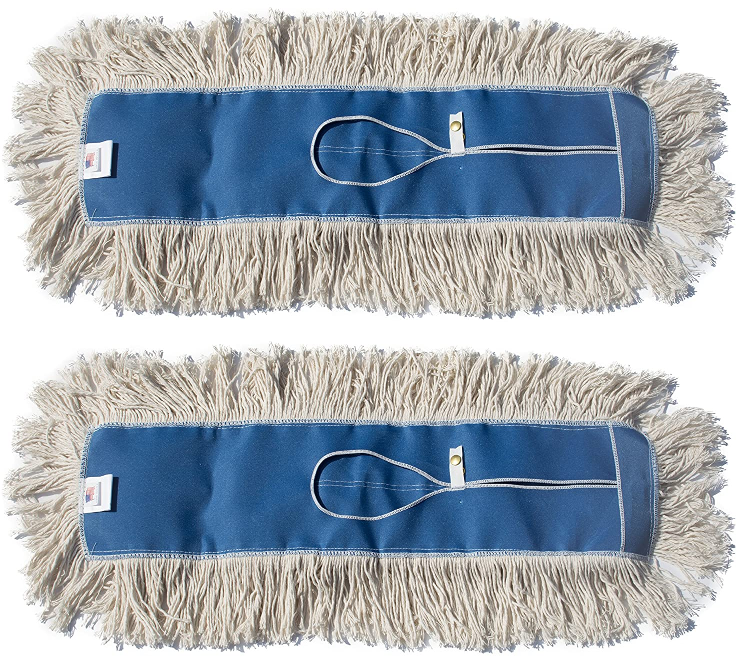 Commercial Cleaner Mop Head Replacement 1 Pack, 60 Wide X 5 Nine Forty Industrial Strength Ultimate Cotton Floor Dust Mop Refill