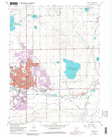 Amazoncom Longmont CO topo map 124000 scale 75 X 75 Minute