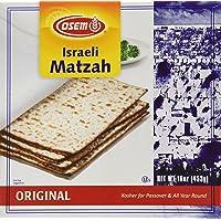 Osem Matzah Kosher for Passover Matzo 16 oz (453g) - Product of Israel