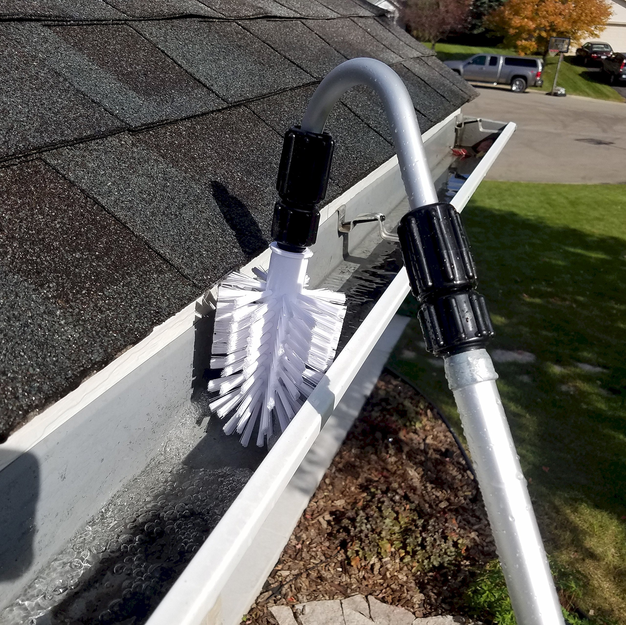 Ezy Flo Deluxe High Reach Gutter/Window/Patio Cleaning Kit by Ezy Flo (Image #5)