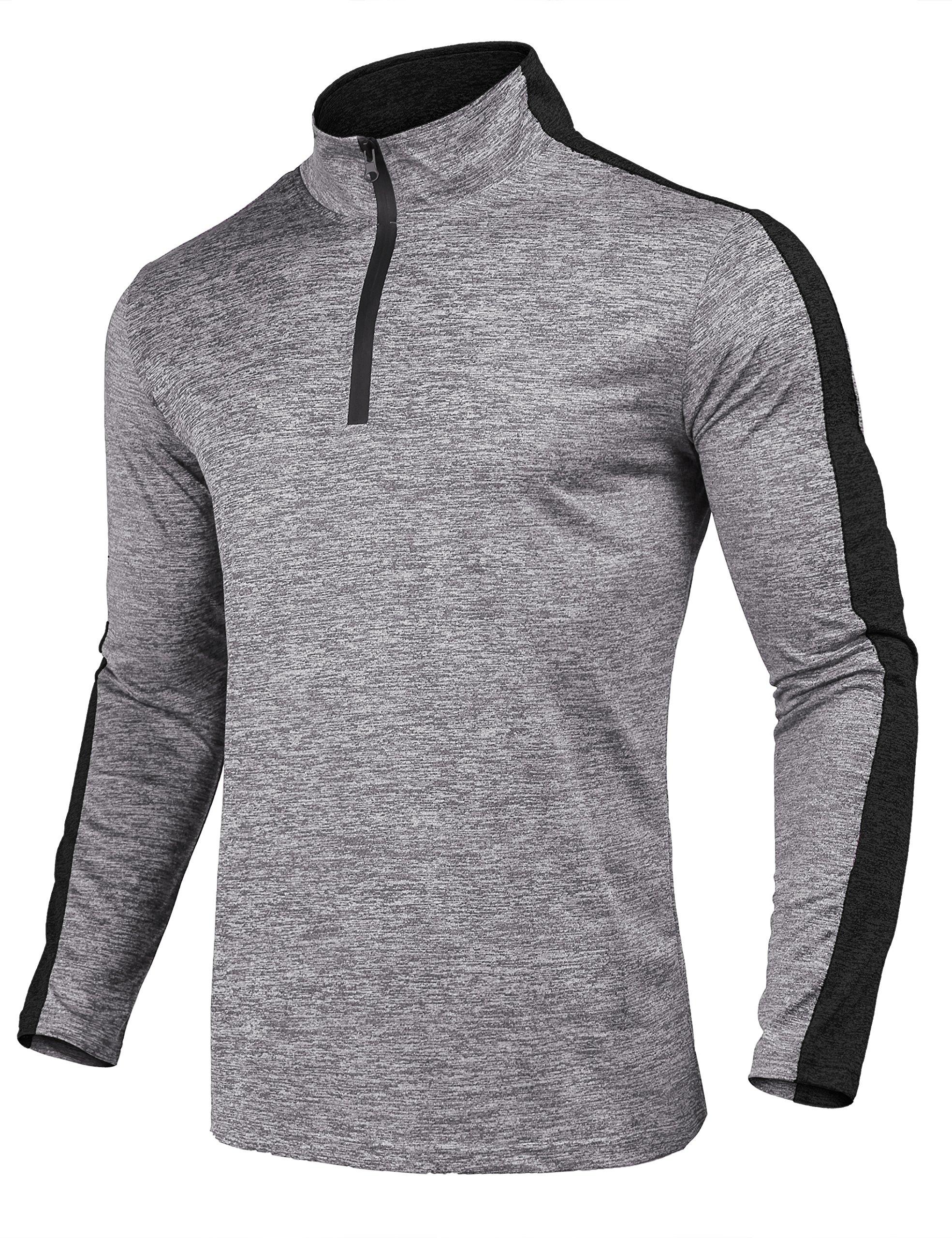 JINIDU Men's Performance Cycling Jersey Bike Biking Shirt Breathable Quick Dry T Shirt by JINIDU