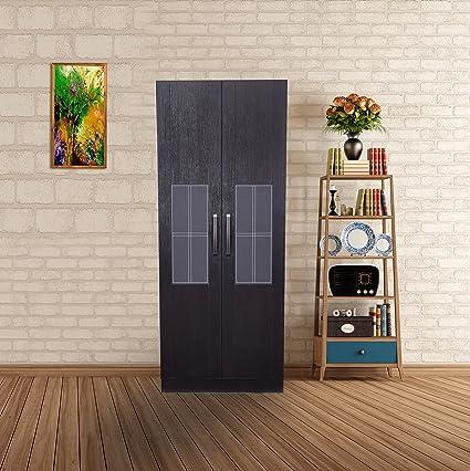 Royal Oak Geneva 2-Door Wardrobe (Brown) & Royal Oak Geneva 2-Door Wardrobe (Brown): Amazon.in: Home u0026 Kitchen