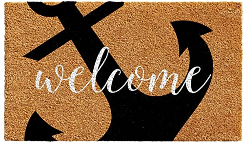 Home More 103122436 Anchor Welcome Doormat 2 x 3
