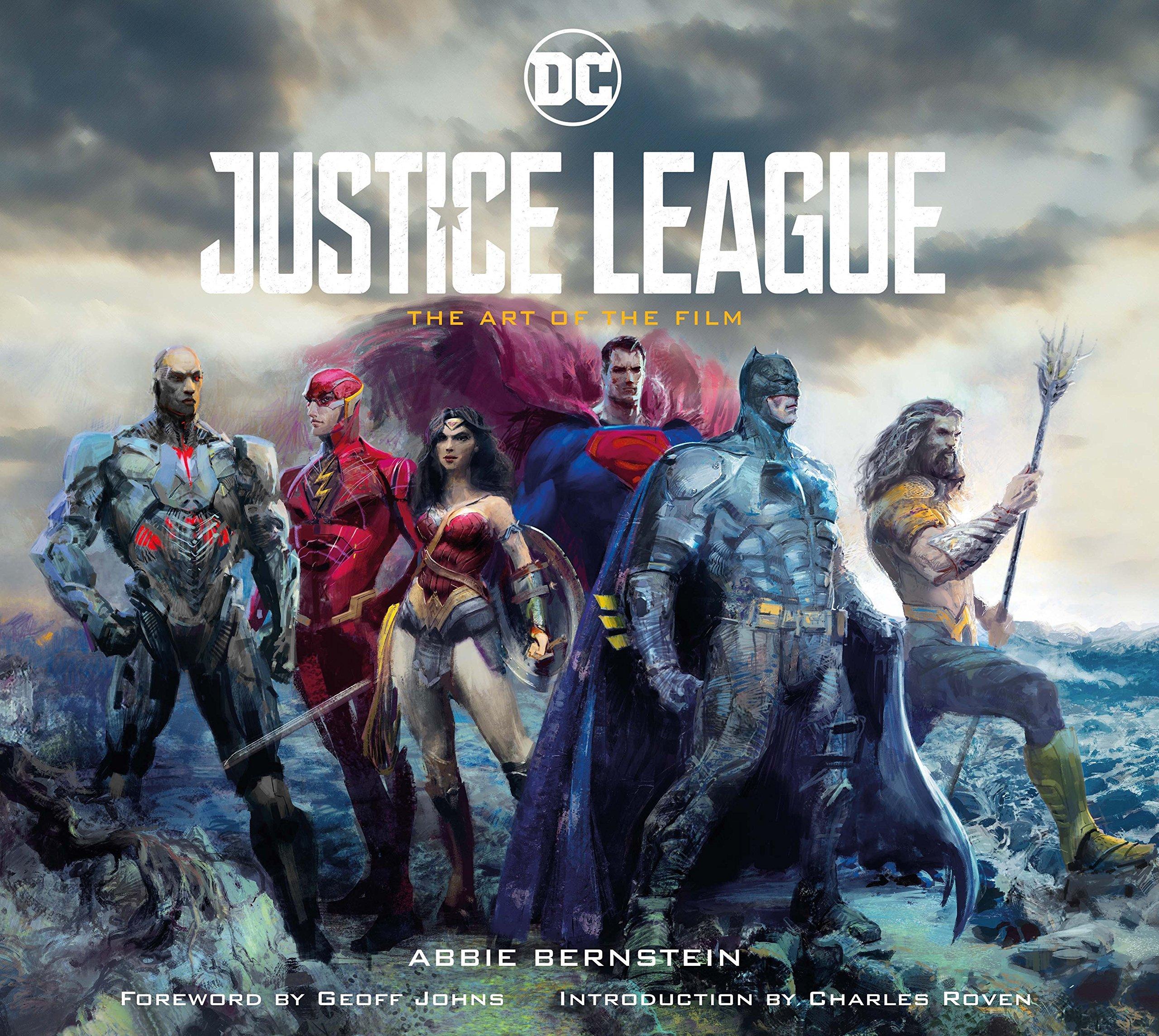 amazon justice league the art of the film abbie bernstein