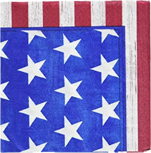 American Party Beverage Napkins, 100 Ct.