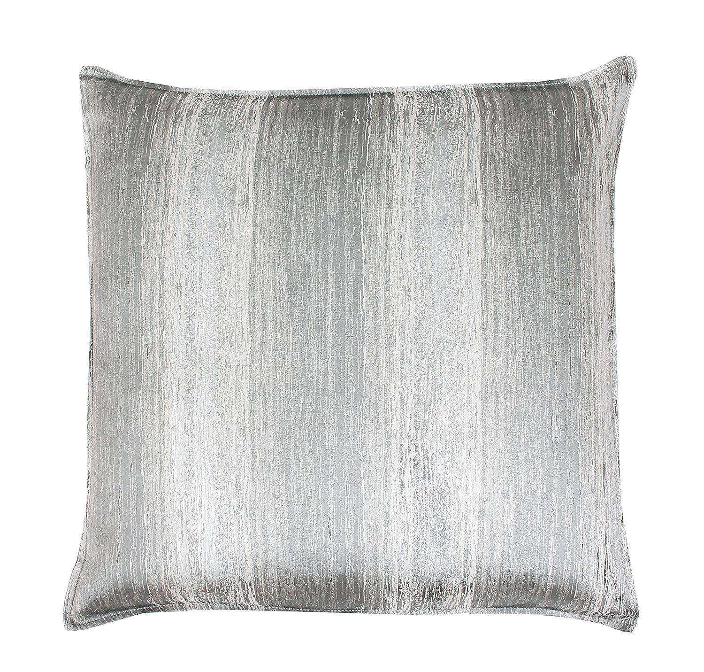 Urban Loft by Westex Raised Diamond Grey Polyester Filled Decorative Throw Pillow Cushion 20 x 20