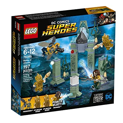 LEGO Super Heroes 76085 Battle of Atlantis (197 Piece): Toys & Games