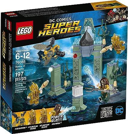 Lego DC Comics Super Heroes Justice League Battle of Atlantis Building Toy 197pc