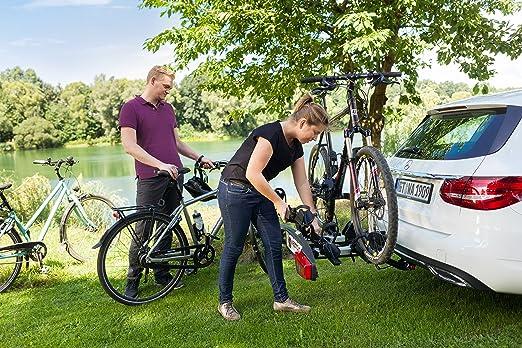 Extensión tercera bicicleta Westfalia para Bikelander con mecanismo de liberación rápida: Amazon.es: Coche y moto