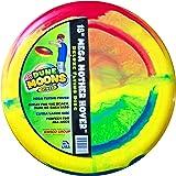 "Emsco Group ESP Dune Moons Deluxe Aerodynamic Flying Discs - MEGA Mother Hover Super Sized 18"" Diameter Large Flying Disc Frisbee"