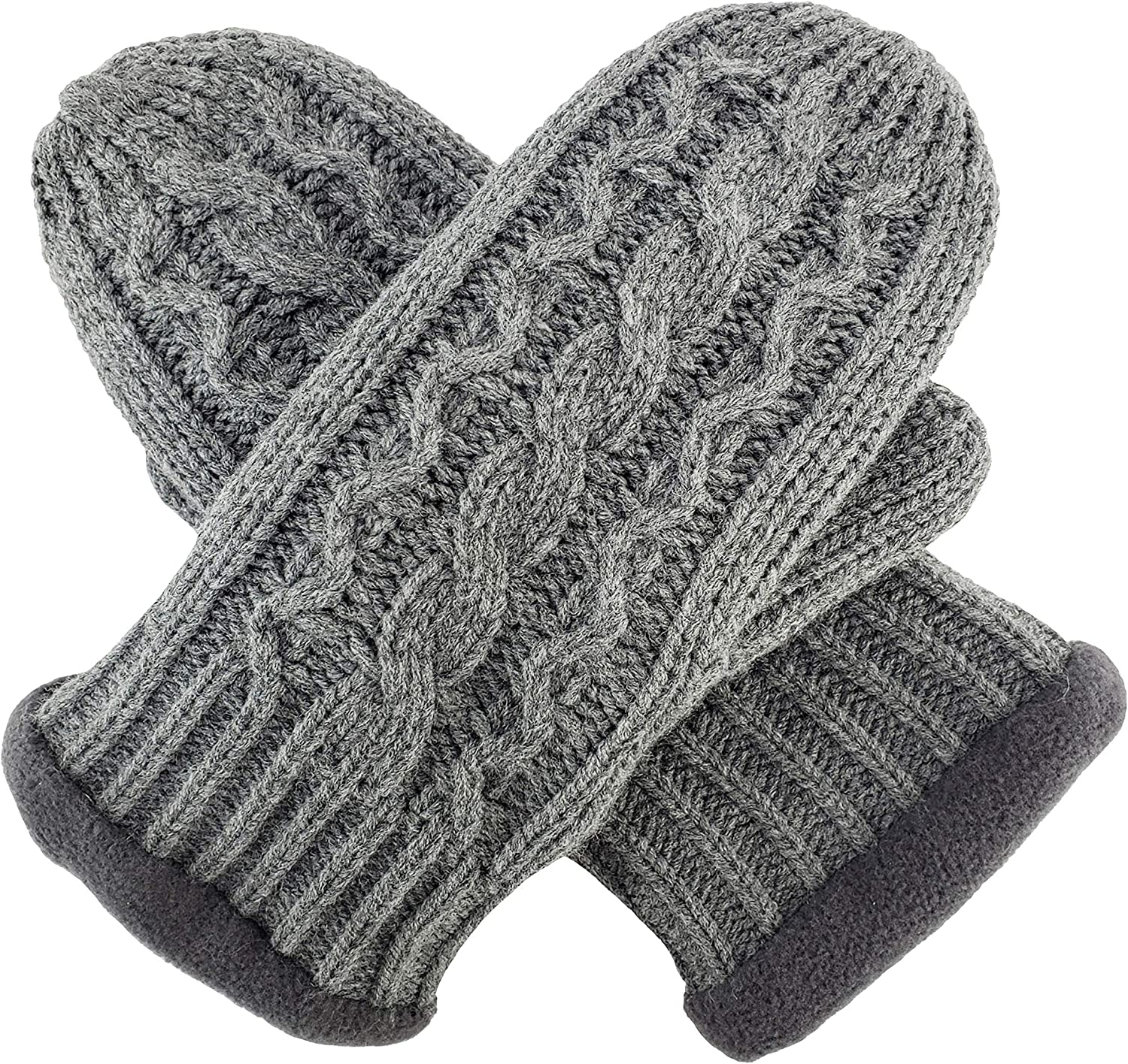 Bruceriver Knit Mitten With...