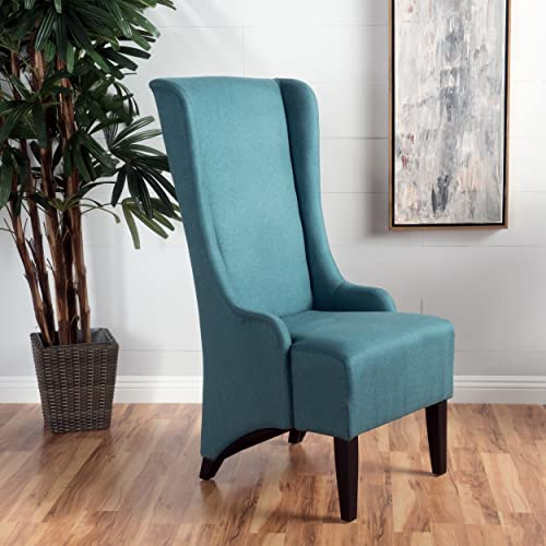 Christopher Knight Home Callie Fabric Dining Chair, Teal
