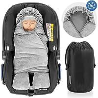 Zamboo Manta envolvente bebé con pies, forro polar