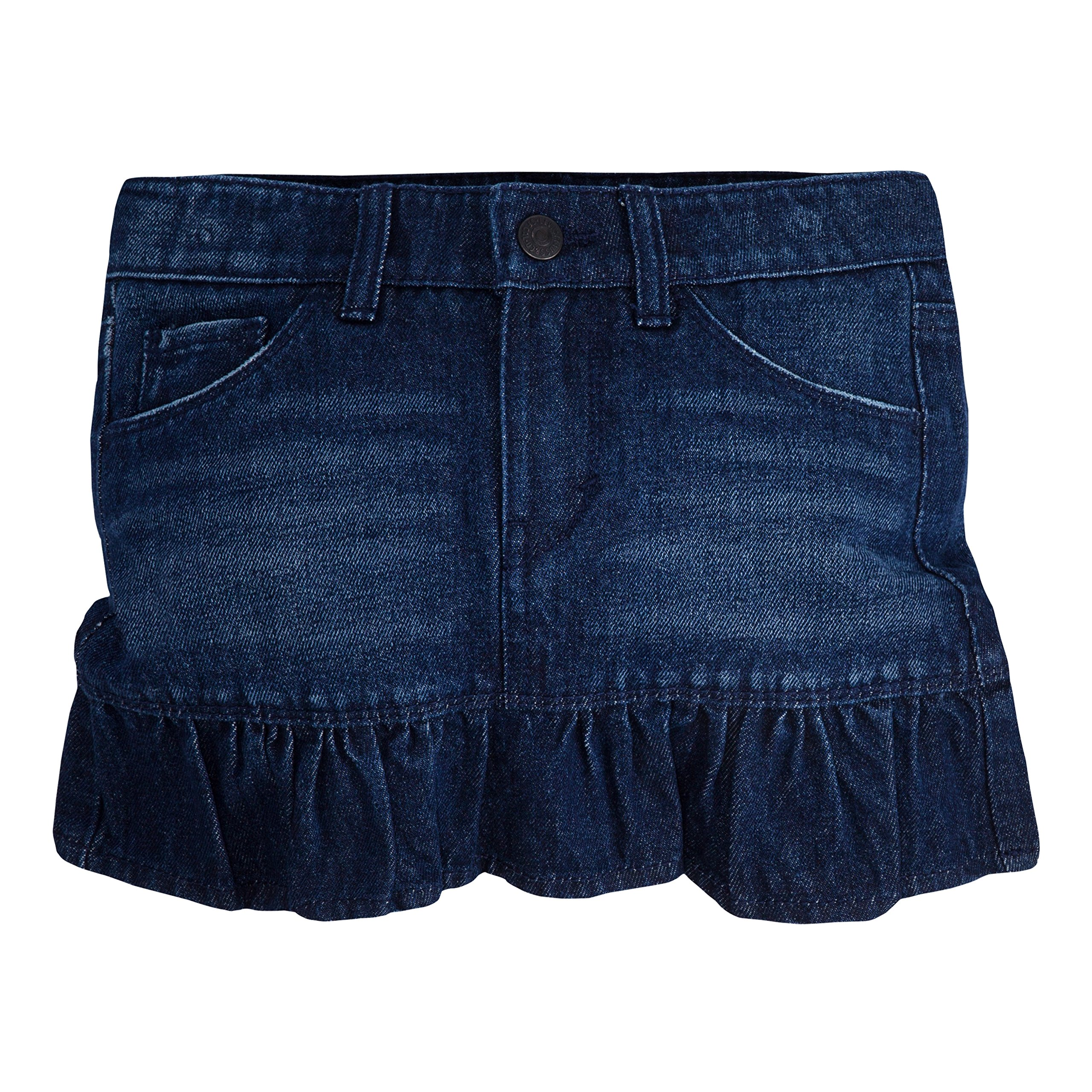 Levi's Girls' Little Alessandra Scooter Skirt, Night Fade, 6X