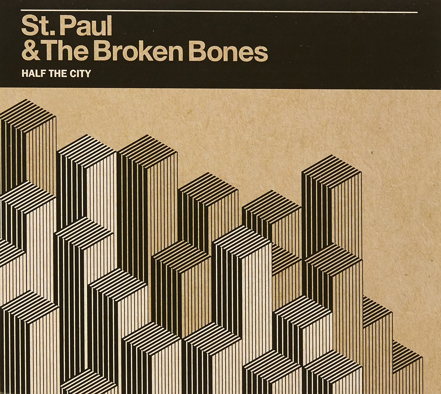 ST  PAUL & THE BROKEN BONES - HALF THE CITY