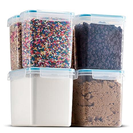 Komax Biokips Food Storage U2013 Sugar, Flour, Baking Ingredients, And Pantry Storage  Containers