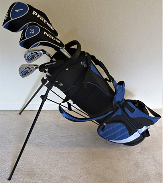 Boys Ages 8-12 Junior Golf Club Set with Stand Bag for Kids Jr. Right Handed Premium Professional Tour Quality