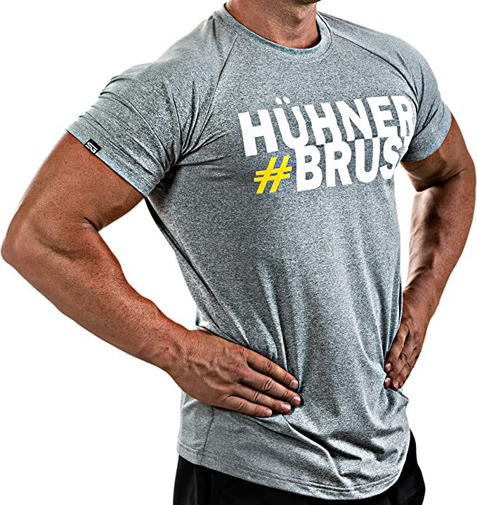 Adecuada para Workout Satire Gym Camiseta Deportiva Hombre Fitness Ropa Deportiva Transpirable Entrenamiento Muscle Fit