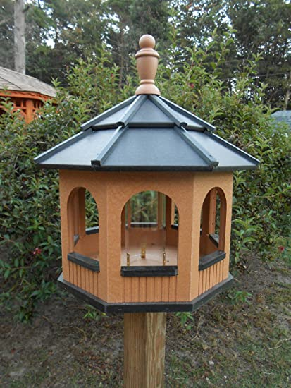 Amazon.com: Grande Octagon Gazebo vinilo Pájaros Amish ...