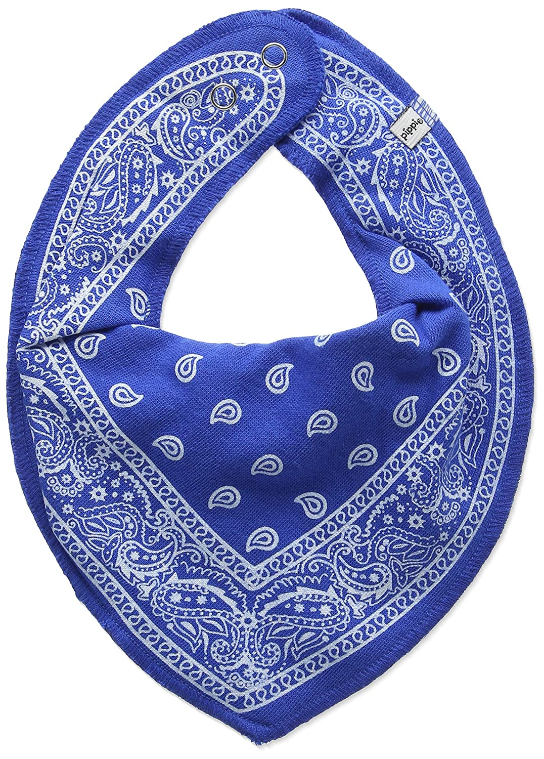 Pippi Baby-Boys Bandana Floral Bibs Blue One Size 2541