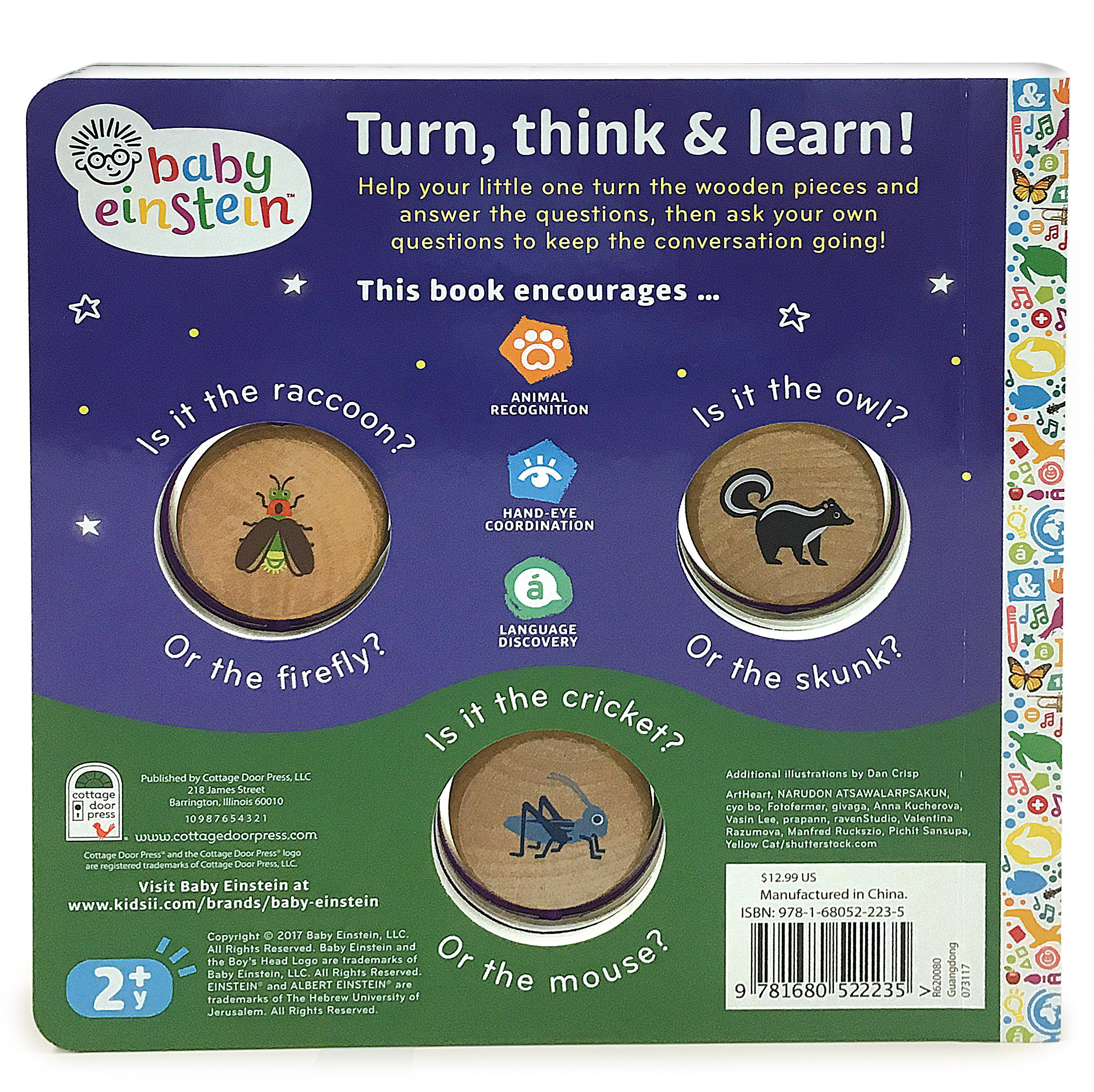 Baby einstein under the starsturn learn board book baby baby einstein under the starsturn learn board book baby einstein turn learn minnie birdsong dan crisp 9781680522235 amazon books fandeluxe Gallery