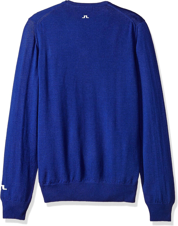 J.Lindeberg Mens Merino Wool High Neck Sweater