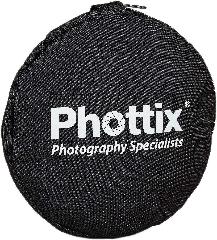 pliable 5 en 1 r/éflecteur 56cm Phottix PX86500