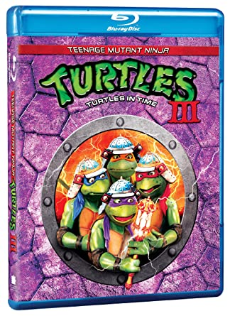 Teenage Mutant Ninja Turtles 3 Edizione: Stati Uniti USA Blu ...