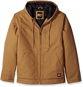 87a77dba Timberland PRO Men's Big and Tall Baluster Insulated Hooded Work Jacket,  Dark Wheat, Small