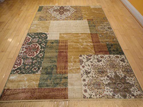 Luxury Silk Area Rugs 5×8 Modern Rugs For Living Room Red Beige Green Cream 5×7 Rugs For Living Room Under 50 Green