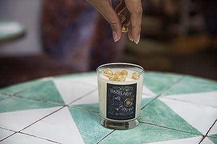 Vela aromática de Cera de Soja de café Hecha a Mano – Londres