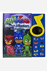 PJ Masks - Moon Mission Sing-Along Story Sound Book with Mirror - Play-a-Song - PI Kids Hardcover
