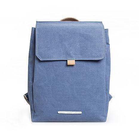 Daypack Woman - Canvas Backpack Grey RAWROW - Minimalist Premium design -  perfect for work fccb6e6367ea4