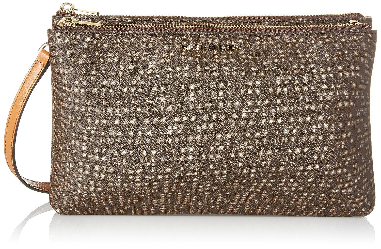 623d2e040c37c MICHAEL Michael Kors Women s Adele Double Zip Wristlet  Handbags  Amazon.com