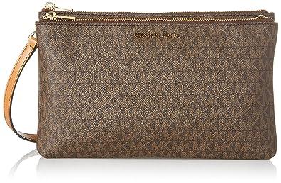 23a1020e8ef7 MICHAEL Michael Kors Women s Adele Double Zip Wristlet  Handbags ...