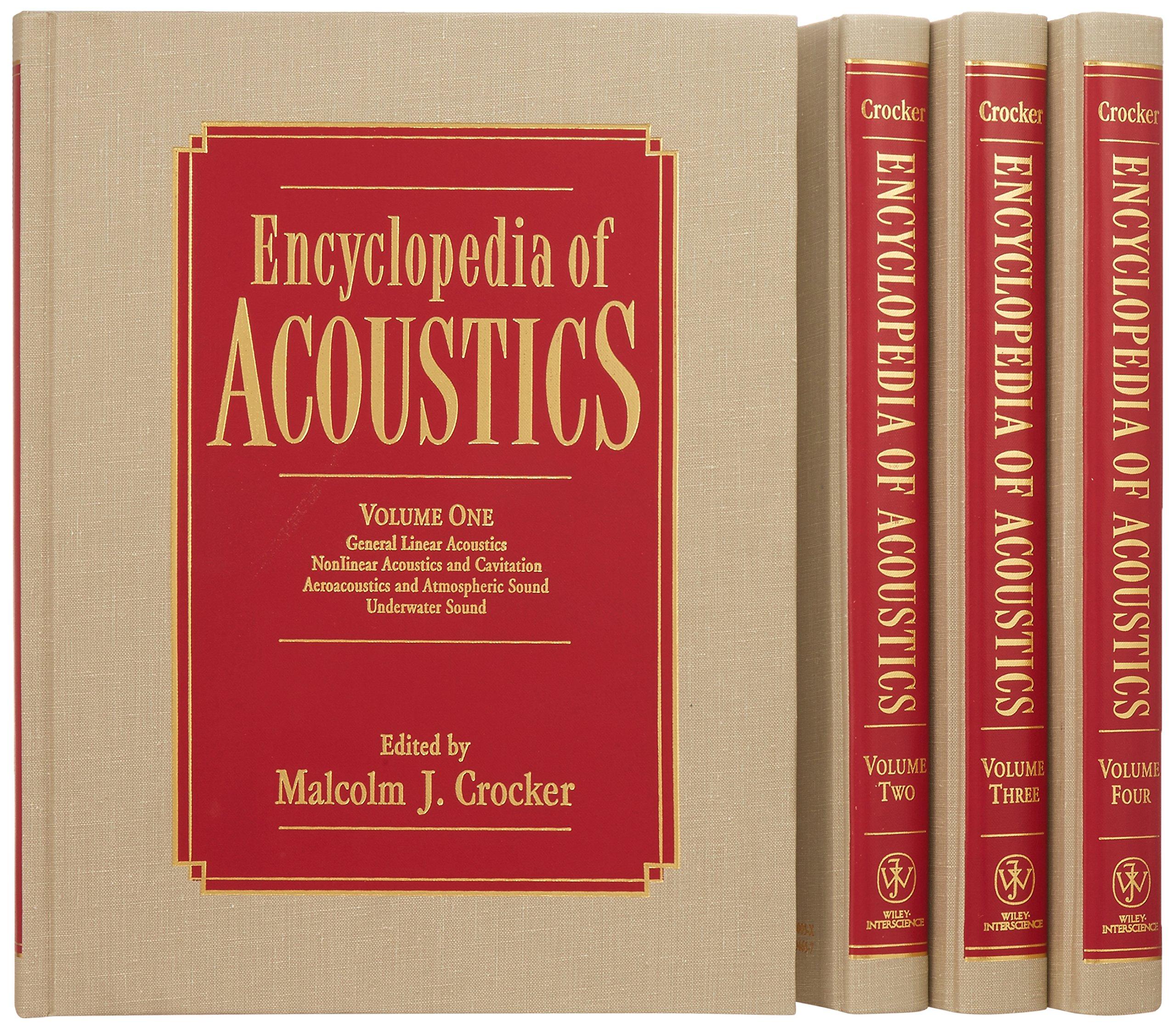 4 Volume Set, Encyclopedia of Acoustics