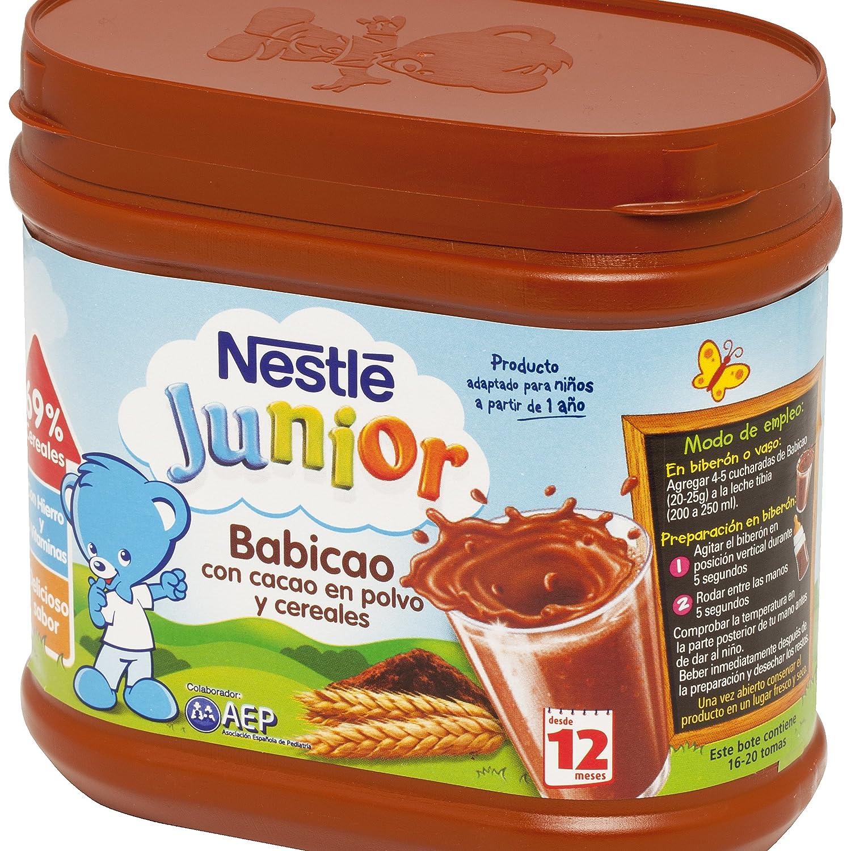 Nestlé - Junior Babicao A Partir De 12 Meses 400 g - [pack de 2]: Amazon.es: Alimentación y bebidas