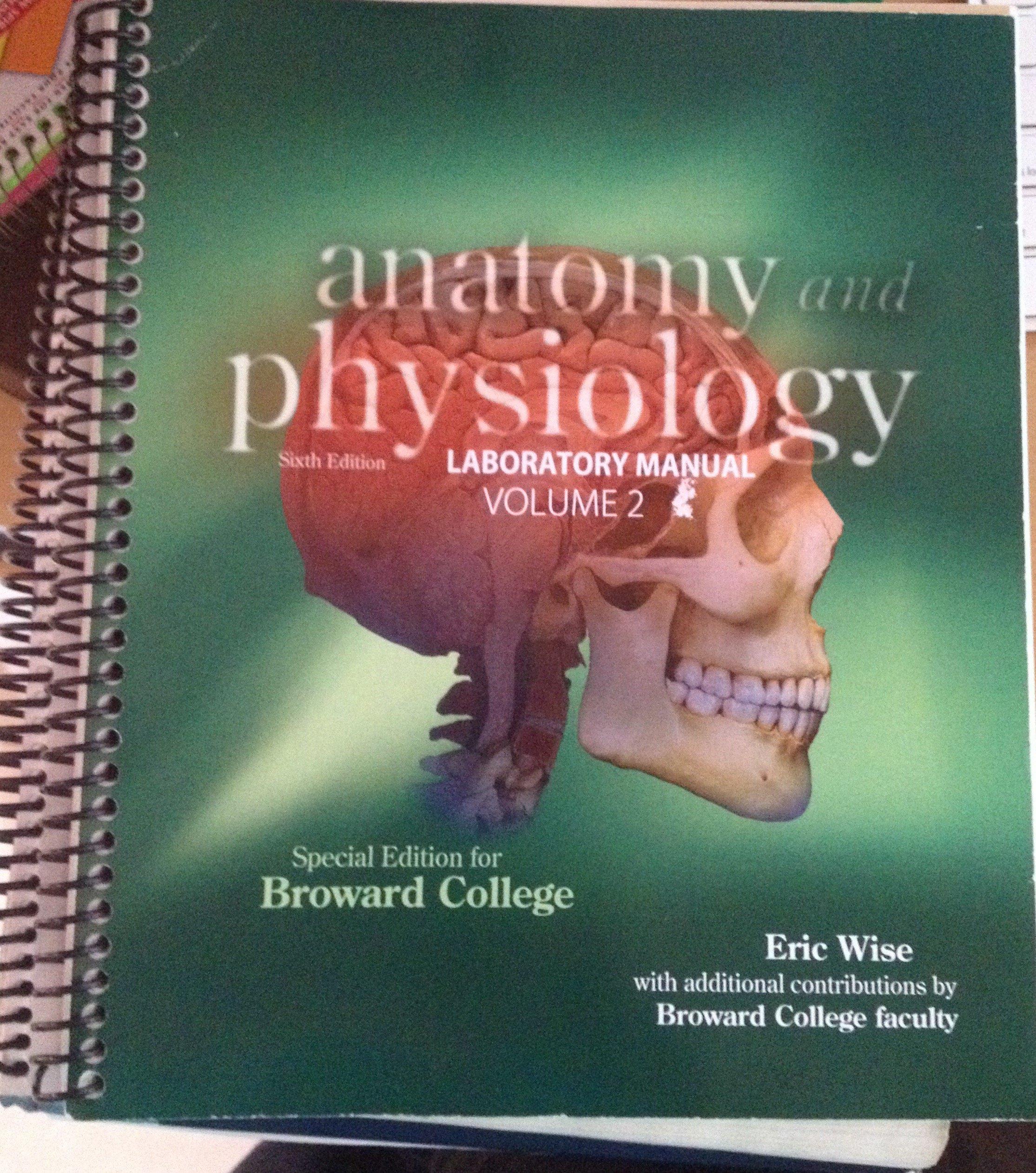 Anatomy and Physiology Lab Manual Volume 2: Amazon.com: Books
