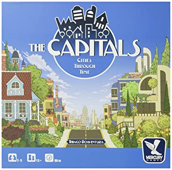 Amazoncom The Capitals Board Game Toys Games - Capital cities of the world game