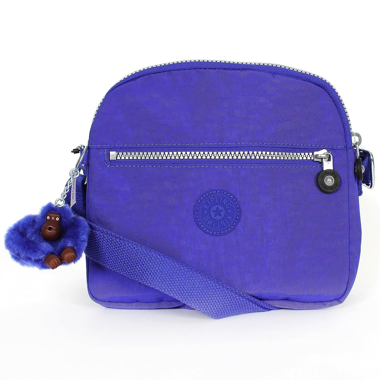 Kipling HB6467 Keefe Shoulder Bag Crossbody, Sapphire