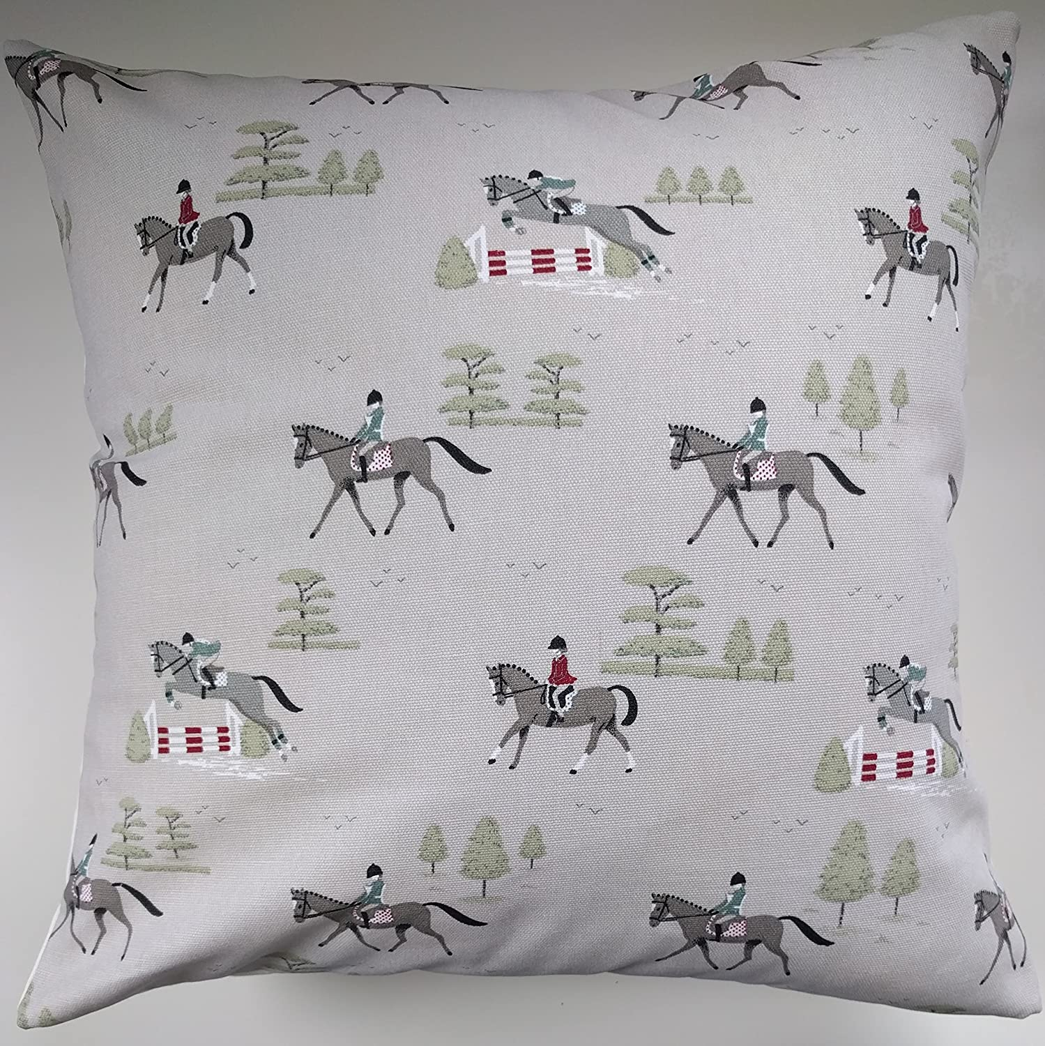 Cushion Cover in Sophie Allport Horses 14' 16' 18' 20' 22' 24'