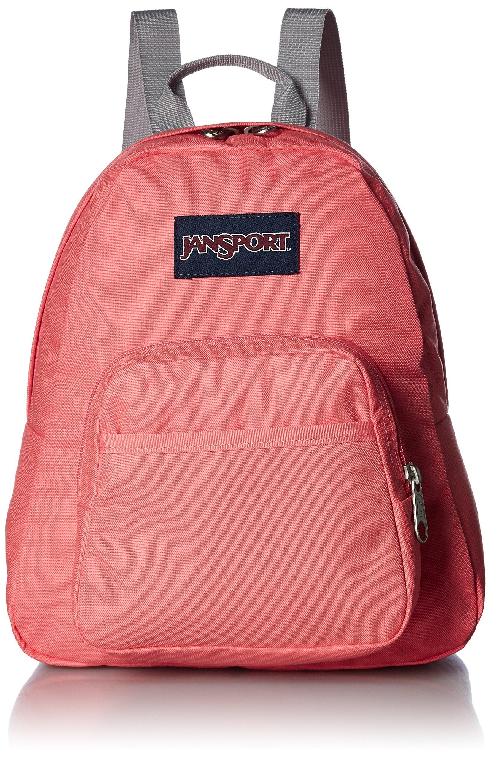 JanSport Half Pint Backpack Coral Sparkle