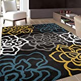 Rugshop Contemporary Modern Area Rug, 9' x
