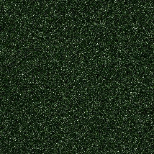 H/öhe ca 7,5mm 250 und 400 cm Breite verschiedene Gr/ö/ßen 133 Meterware Gr/ö/ße: 1 x 2 m 200 dunkel-gr/ün Kunstrasen Rasenteppich mit Noppen