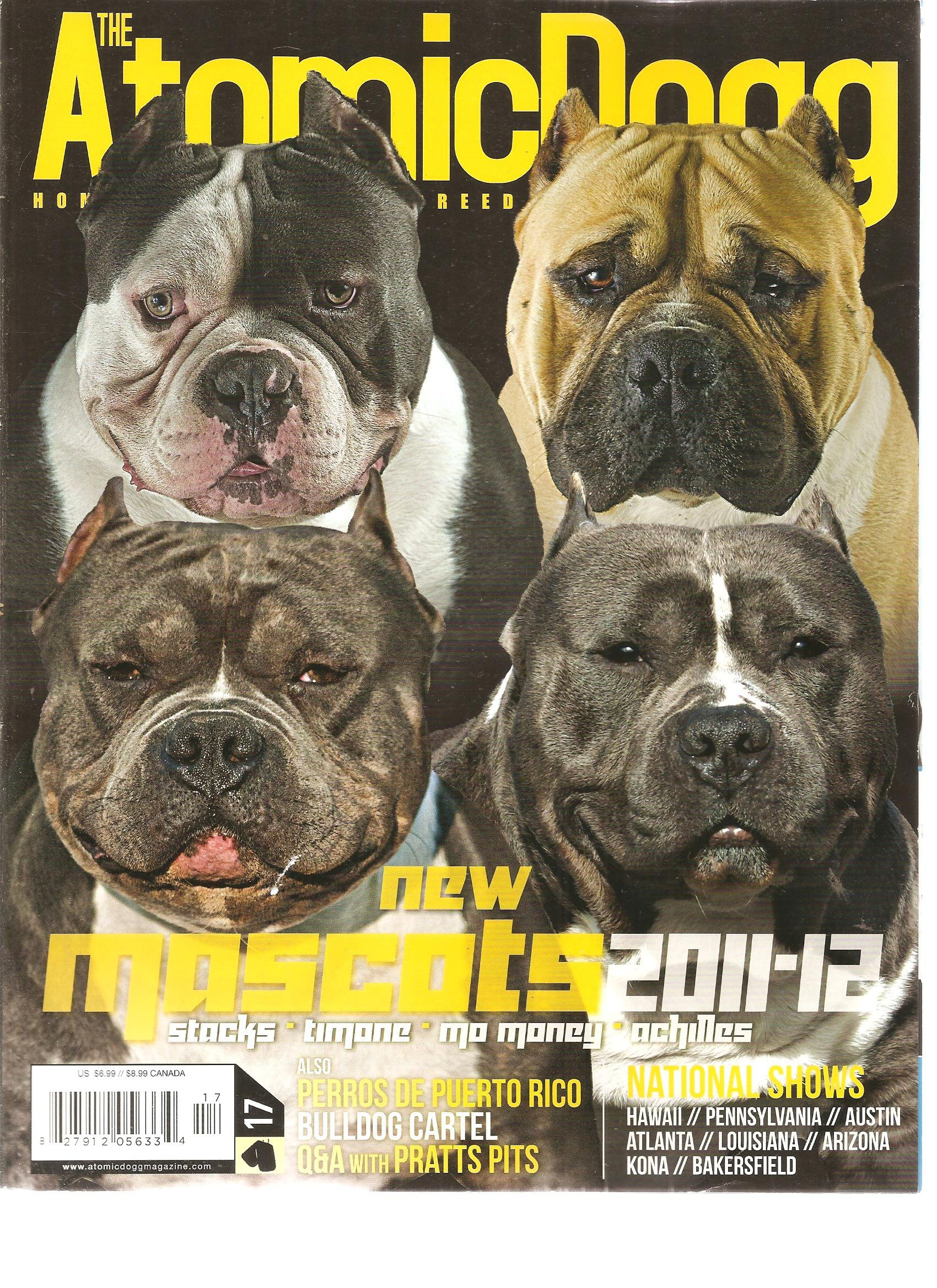 The Atomic Dogg Magazine (New MAscots 2011 2012, Issue 17