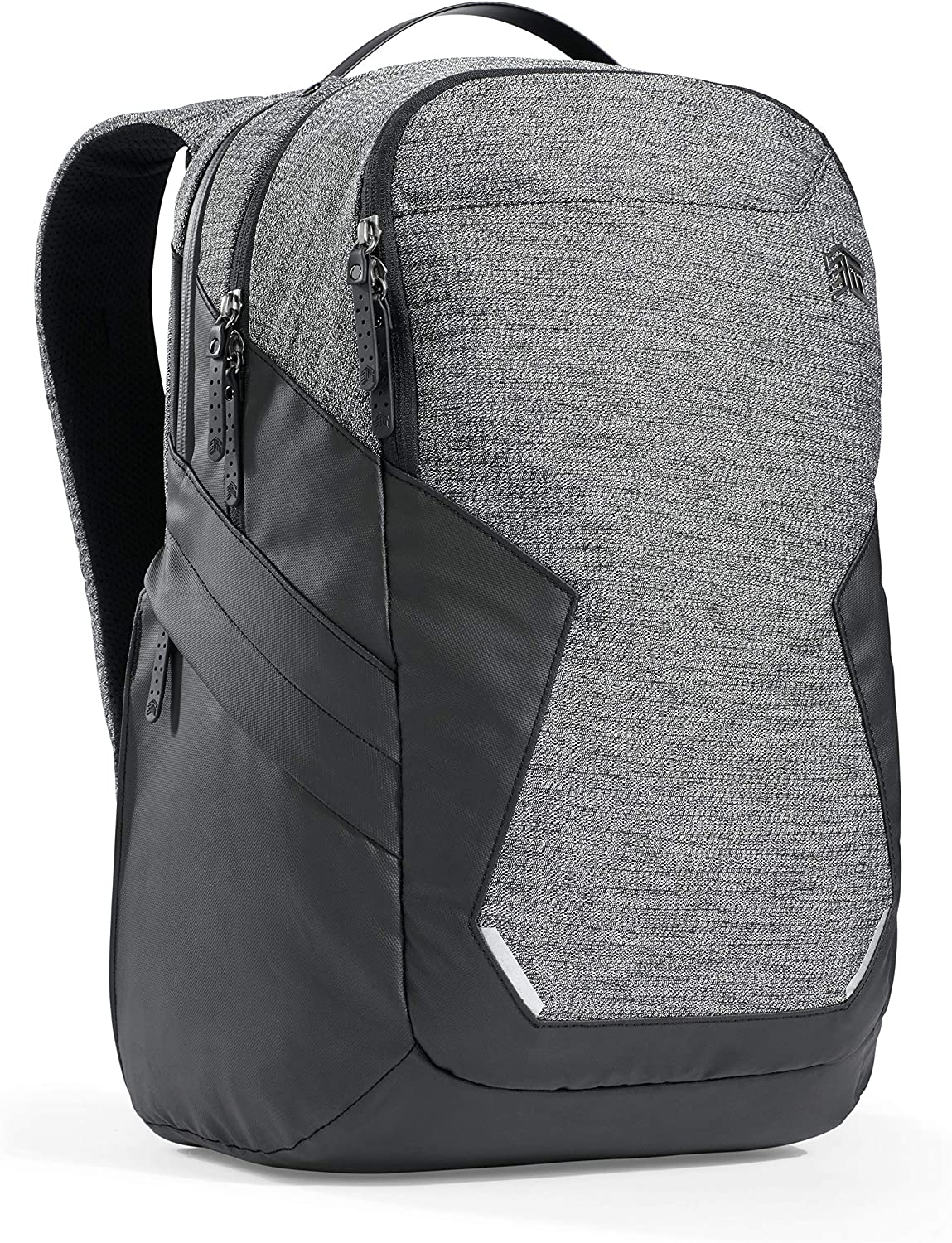 """STM Myth Backpack Featuring Luggage Pass-Through 28L / 15"""" Laptop - Granite Black (stm-117-187P-01)"""