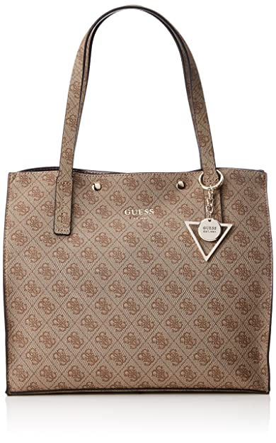 77999054683 Guess KINLEY LOGO BAG Hwsg6778230, Women, Brown, 17.5x31x35 cm (W x ...