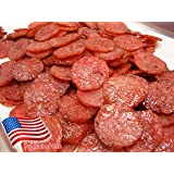 Made to Order Fire-Grilled Asian Minced Pork Jerky (Original Flavor - Medallion Shaped - 12 Ounce) aka Singapore Bak Kwa - Lo